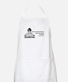 Too Fond of Books (LM Alcott) BBQ Apron