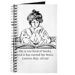 Too Fond of Books (LM Alcott) Journal