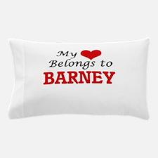 My heart belongs to Barney Pillow Case