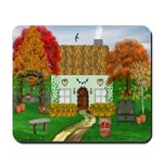 Autumn Cottage Mousepad