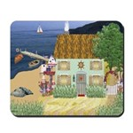 Lakeside Cottage Mousepad
