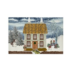 Winter Cottage Magnets (10 pack)