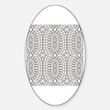 Cute Coloring pages Sticker (Oval)