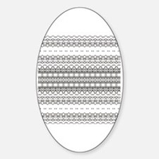 Funny Coloring pages Sticker (Oval)
