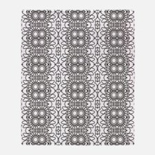 Funny Coloring pages Throw Blanket