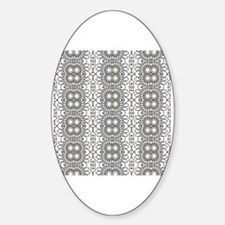 Coloring pages Sticker (Oval)