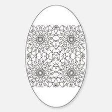 Cool Coloring pages Sticker (Oval)