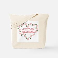 100% Pure Grandma Tote Bag