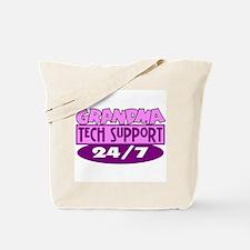 Grandma Tech Support Tote Bag