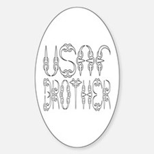 USAF Brother Oval Decal