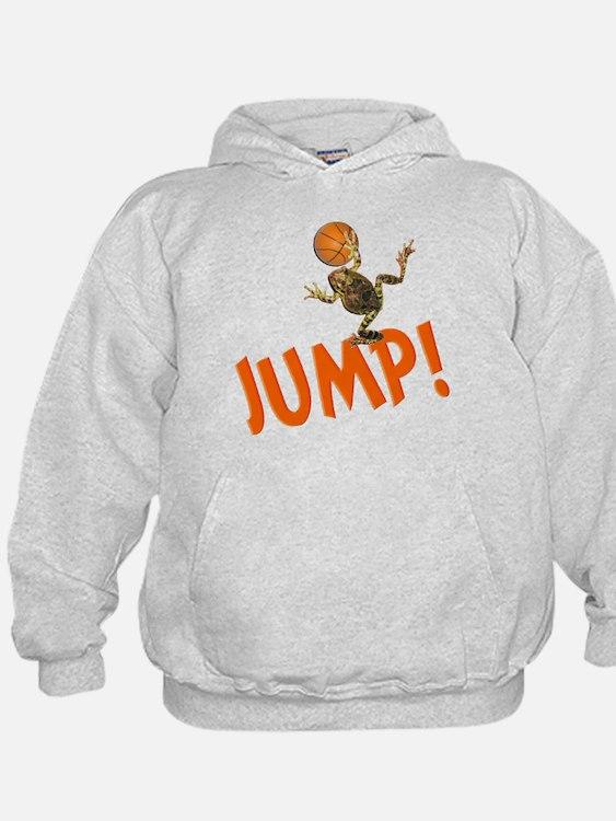 Basketball Jump Frog Hoodie
