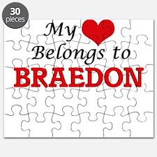 My heart belongs to Braedon Puzzle