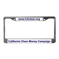 CCMC License Plate Frame (White BG)
