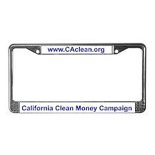 CCMC License Plate Frame (White BG)