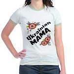 Ukrainian Mama Jr. Ringer T-Shirt