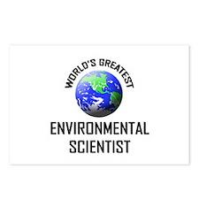World's Greatest ENVIRONMENTAL SCIENTIST Postcards