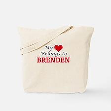 My heart belongs to Brenden Tote Bag