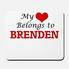 My heart belongs to Brenden Mousepad
