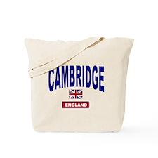 Cambridge England Tote Bag