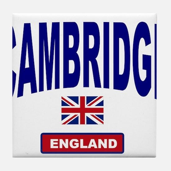 Cambridge England Tile Coaster