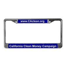 CCMC License Plate Frame (Blue BG)