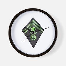 13th Division Legion Wall Clock