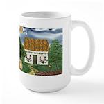 Storm Cottage Large Mug