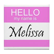 Melissa Tile Coaster
