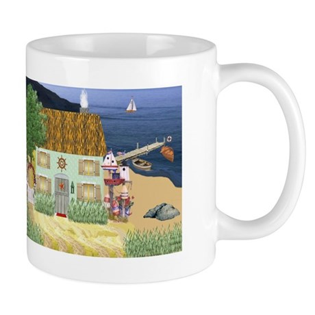 Lakeside Cottage Mug