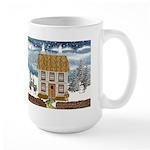 Winter Cottage Large Mug