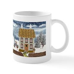 Winter Cottage Mug