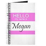Megan Journal