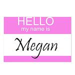 Megan Postcards (Package of 8)