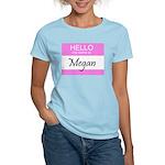 Megan Women's Pink T-Shirt