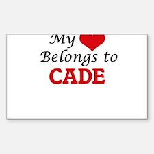 My heart belongs to Cade Decal