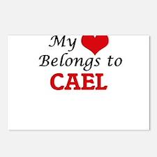 My heart belongs to Cael Postcards (Package of 8)