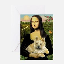 Mona / Cairn T (brin) Greeting Card