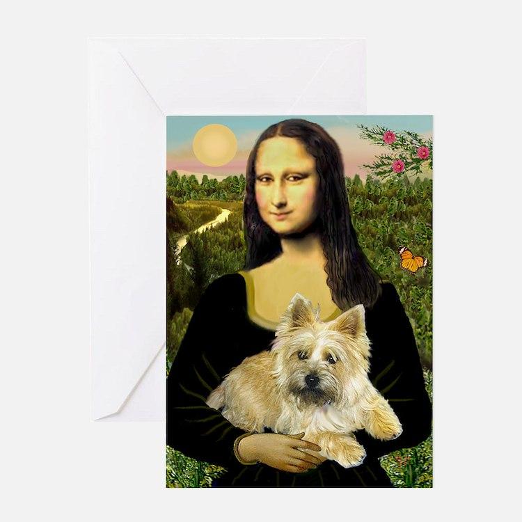Mona / Cairn T (brin) Greeting Card