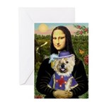 Mona / Cairn T (brin) Greeting Cards (Pk of 20)