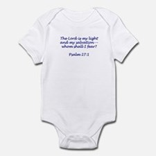 The Lord is My Light Infant Bodysuit
