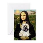 Mona /Cairn T Greeting Card