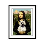 Mona /Cairn T Framed Panel Print