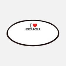 I Love SRIRACHA Patch