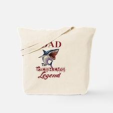 Cute Dad hunting legend Tote Bag