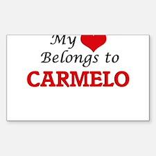 My heart belongs to Carmelo Decal