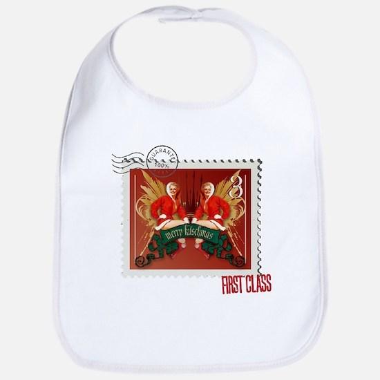 Pin-Up Kitschmas Stamp Bib