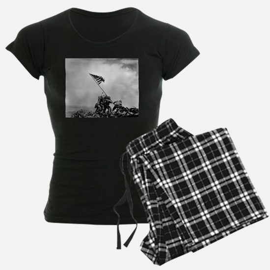 Iwo Jima, raising the flag Pajamas