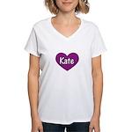 Kate Women's V-Neck T-Shirt