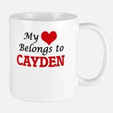 My heart belongs to Cayden Mugs