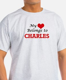 My heart belongs to Charles T-Shirt